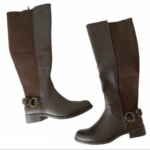 MIA Anderson Tall Riding Boot Brown Size 7